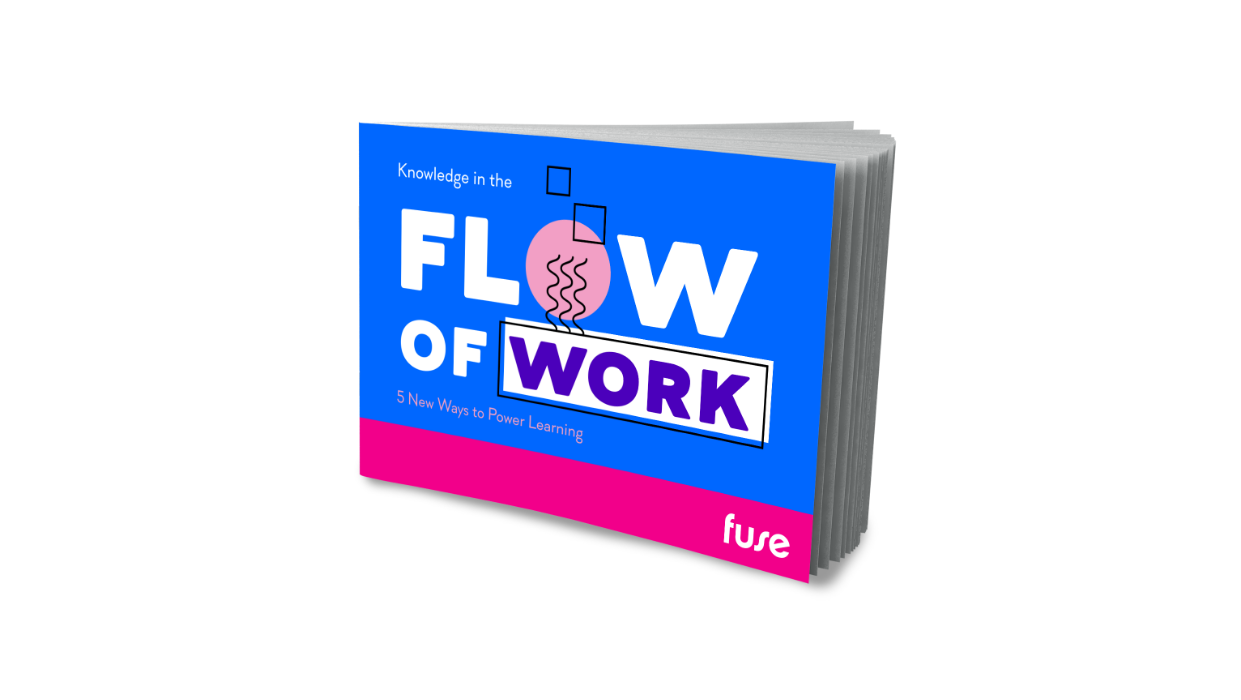 Knowledge in the Flow of Work: 5 Ways To Power Learning